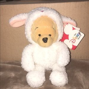 Disney Retired 1990 Pooh Dressed As A Lamb